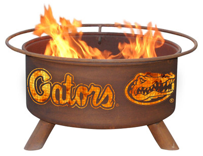 Florida Gators Portable Fire Pit Grill