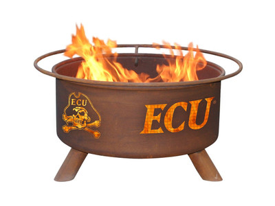 East Carolina Pirates Portable Fire Pit Grill