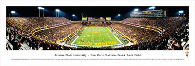 Arizona State Sun Devils Panoramic Photo Print - End Zone