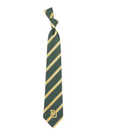 Baylor Bears Woven Poly Tie