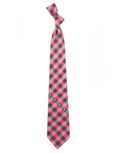 Cincinnati Bearcats Woven Poly Check Tie