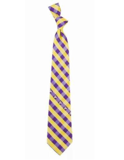East Carolina Pirates Woven Poly Check Tie