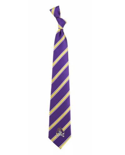 East Carolina Pirates Woven Poly Tie