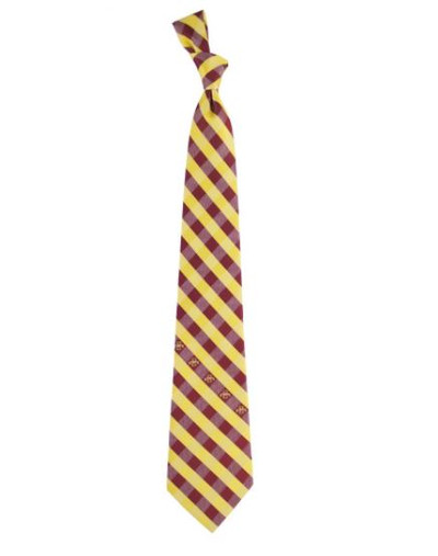 Iowa State Cyclones Woven Poly Check Tie