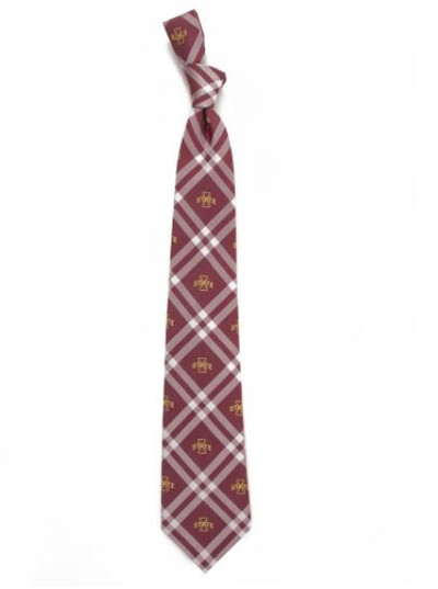 Iowa State Cyclones Woven Poly Rhodes Tie