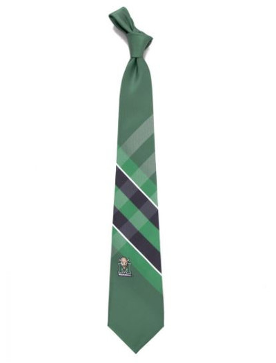 Marshall Thundering Herd Woven Poly Grid Tie