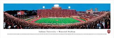 Indiana Hoosiers Panoramic Photo Print - 50 Yard Line