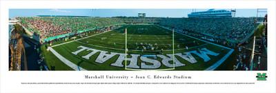 Marshall Thundering Herd Panoramic Photo Print - End Zone
