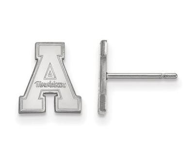 Appalachian State Mountaineers Sterling Silver Post Earrings