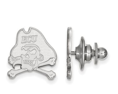 East Carolina Pirates Sterling Silver Lapel Pin