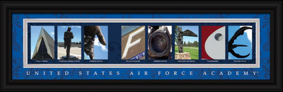 Air Force Academy Campus Letter Art Print
