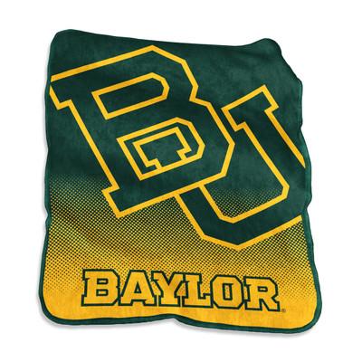 Baylor Bears Logo  Raschel Throw Blanket