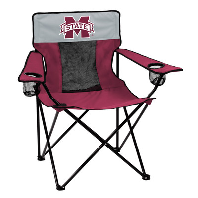 Mississippi St. Bulldogs Elite Tailgate Chair