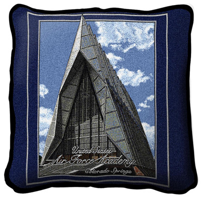 Air Force Academy Cadet Chapel Pillow