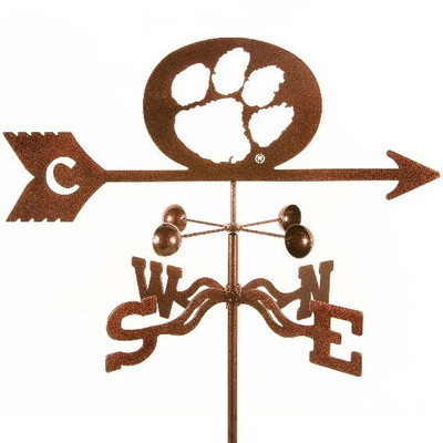 Clemson Tigers Paw Weathervane