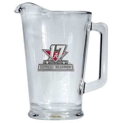 2017 National Champions Alabama Crimson Tide Beer Pitcher | Heritage Pewter | PI11088E