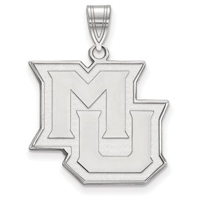 Marquette University 14k White Gold Large Pendant