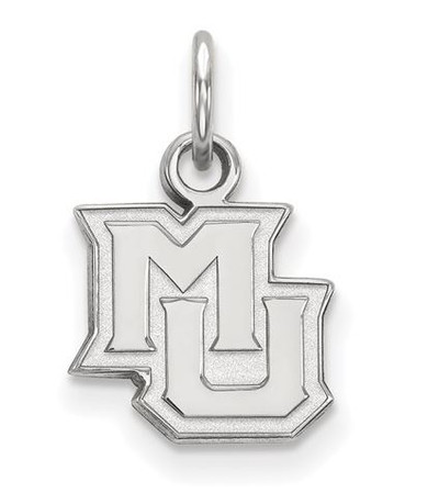 Marquette University 14k White Gold Extra Small Pendant