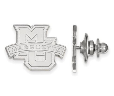 Marquette University 14k White Gold Lapel Pin