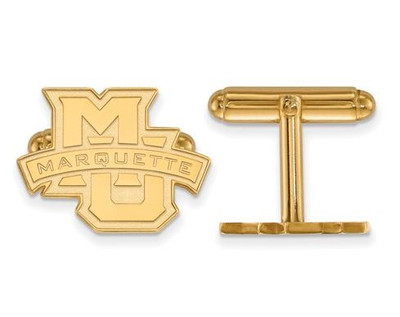 Marquette University 14k Yellow Gold Cufflinks