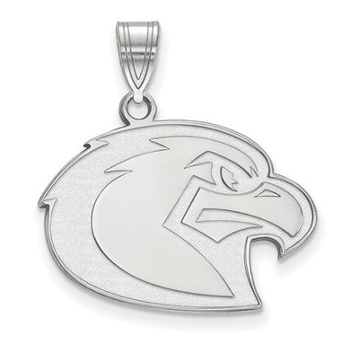 Marquette University Golden Eagles 10k White Gold Large Pendant