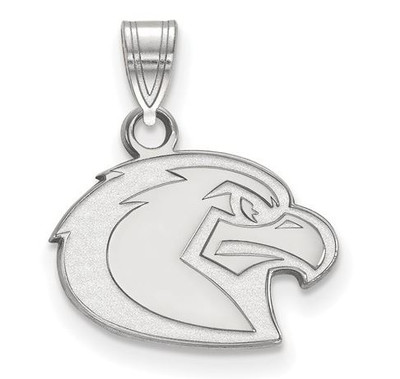 Marquette Golden Eagles 14k White Gold Small Pendant