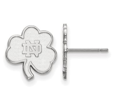 University of Notre Dame Fighting Irish Sterling Silver Extra Small Post Earrings