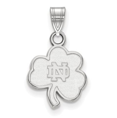 University of Notre Dame Fighting Irish Sterling Silver Small Pendant