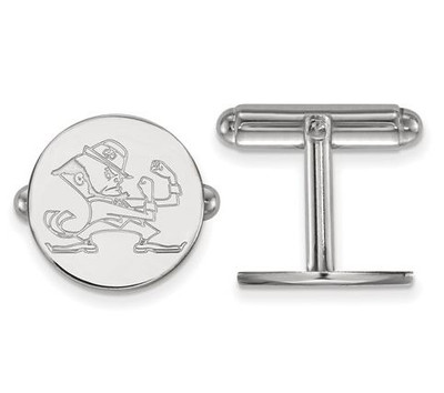 University of Notre Dame Fighting Irish Sterling Silver Cufflinks