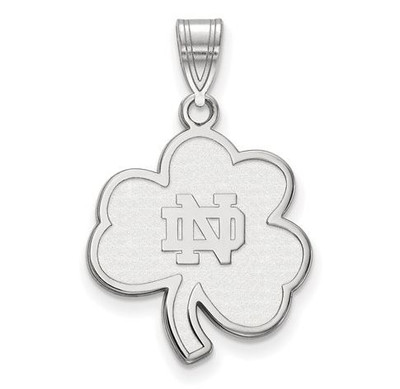 University of Notre Dame Fighting Irish Sterling Silver Large Pendant