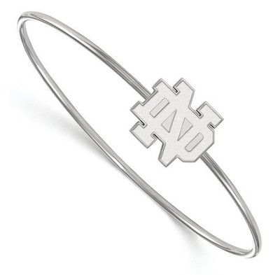 Notre Dame Fighting Irish Sterling Silver Bracelet | Logo Art | SS014UND-7