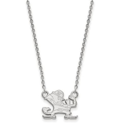 University of Notre Dame Fighting Irish Sterling Silver Small Pendant Necklace