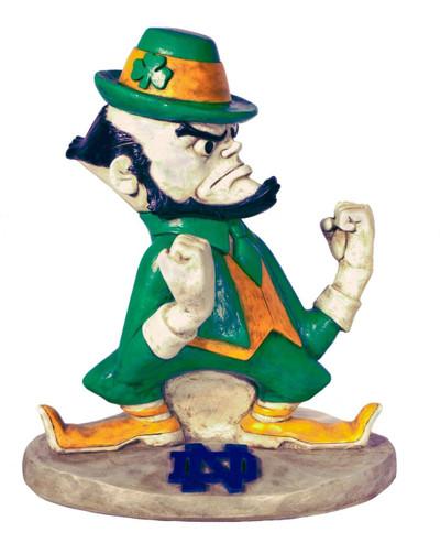 Notre Dame Fighting Irish Mascot Garden Statue | Stonecasters | 2787HT