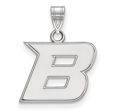 Boise State University Sterling Silver Small Pendant