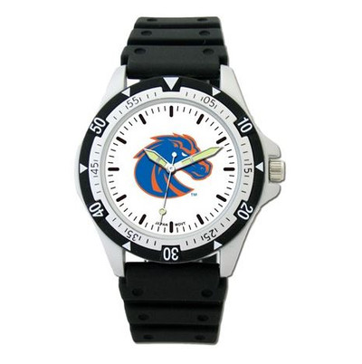 Boise State Option Sport Watch With Rubber Strap