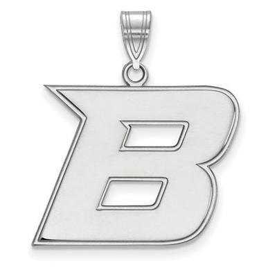 Boise State University 14k White Gold Large Pendant