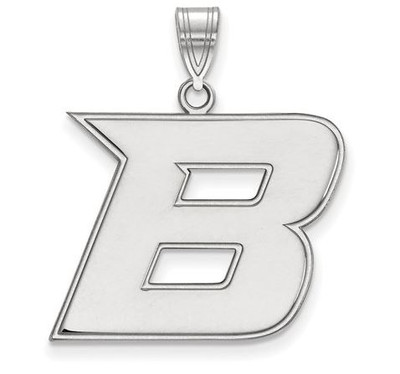 Boise State Broncos Sterling Silver Large Pendant