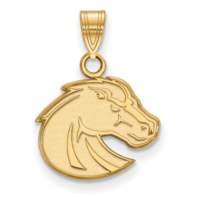 Boise State Broncos 10k Yellow Gold Small Pendant