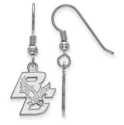 Boston College Sterling Silver Small Dangle Earrings