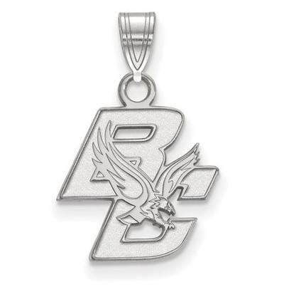 Boston College Sterling Silver Small Pendant