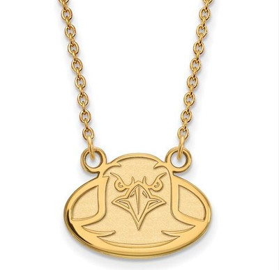 Boston College Sterling Silver Gold Plated Small Pendant Necklace