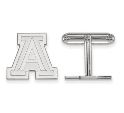 University of Arizona Sterling Silver Cufflinks