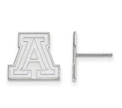 University of Arizona Sterling Silver Small Post Earrings