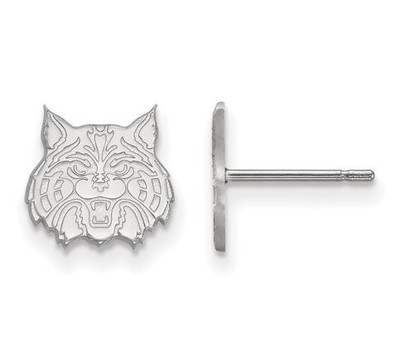 University of Arizona Sterling Silver Extra Small Post Earrings