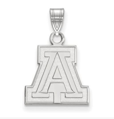 University of Arizona Sterling Silver Small Pendant
