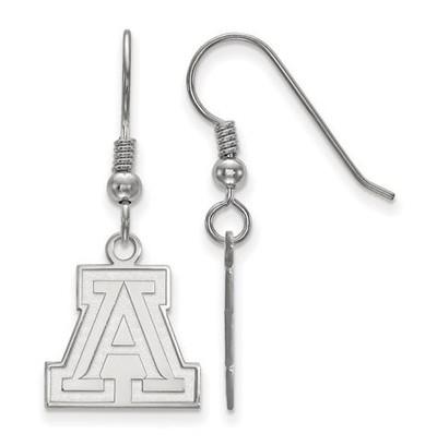 University of Arizona Wildcats Sterling Silver Small Dangle Earrings