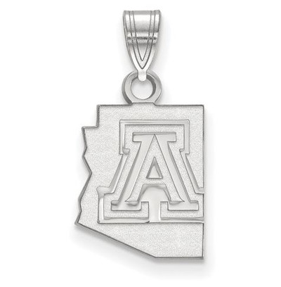University of Arizona Wildcats Sterling Silver Small Pendant
