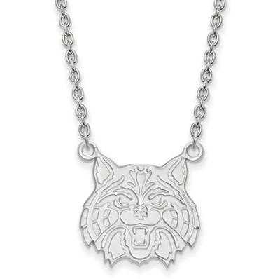 University of Arizona Sterling Silver Large Pendant Necklace