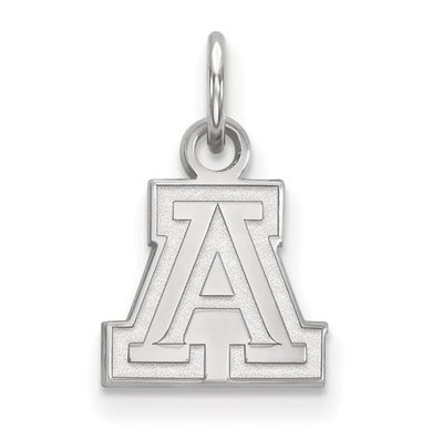 University of Arizona Sterling Silver Extra Small Pendant