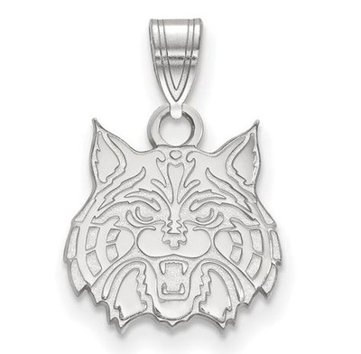 University of Arizona 10k White Gold Small Pendant